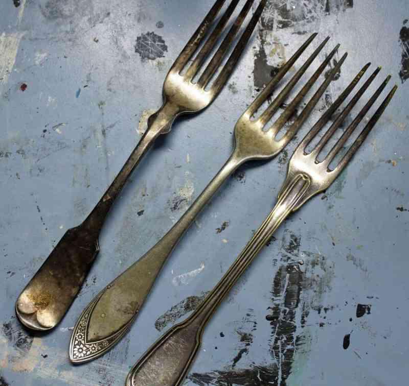 vintage forks