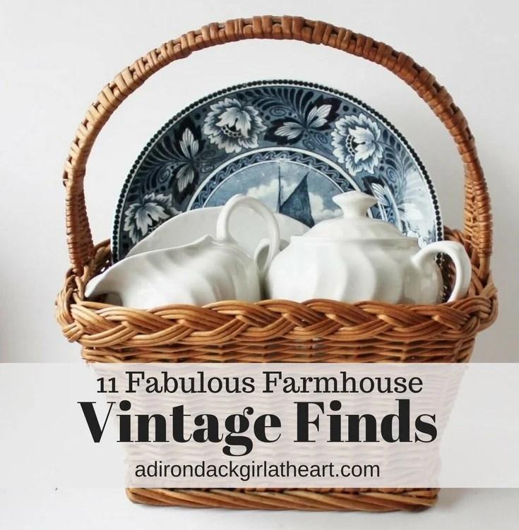 11 Fabulous farmhouse Vintage Finds adirondackgirlatheart.com (2)