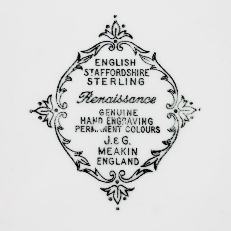 J & G Meaken transferware dinner plate mark (1200x1200)