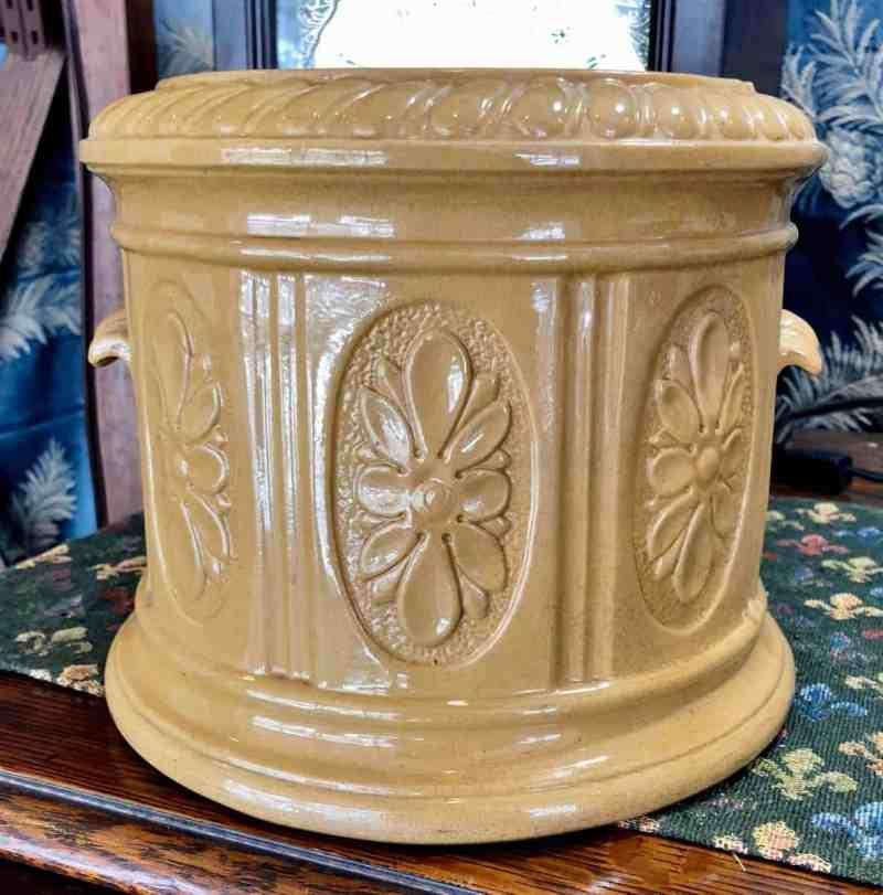 Antique Yellowware Urn