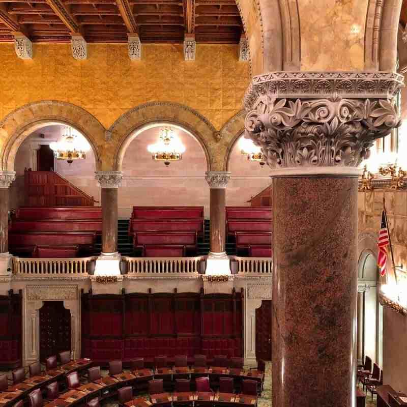 Senate Chambers NYS Capitol