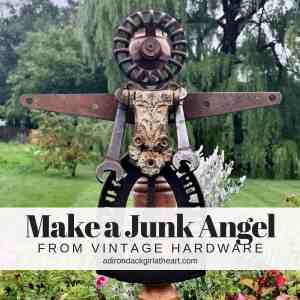 Make a Junk Angel with Vintage Hardware