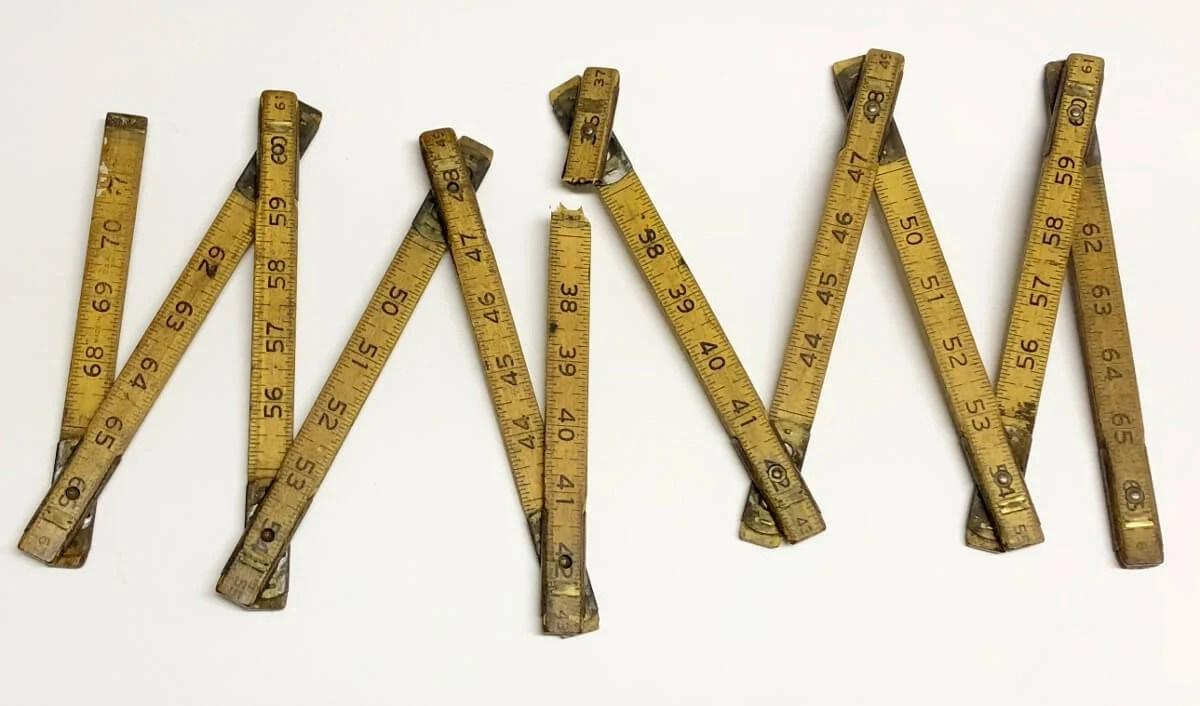 Antique Folding Ruler