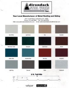 Colorchart valspar manufacturer   certification also adirondack steel works home rh adirondacksteelworks