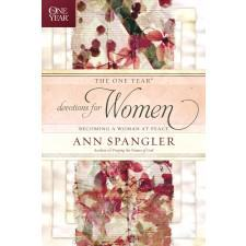 The One Year Devotions for Women Becoming a Woman at Peace by Ann Spangler {Book Review}