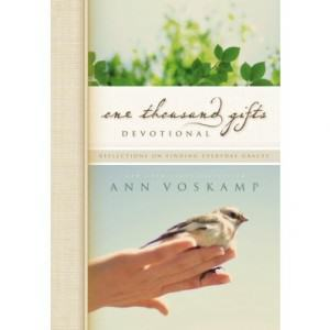 One Thousand Gifts Devotional by Ann Voskamp Book Review