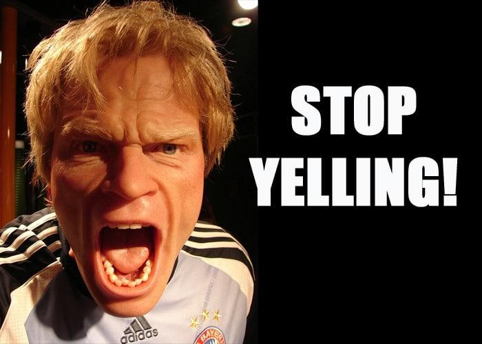 stop-yelling