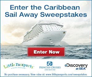 Little Passports THE CARIBBEAN SAIL AWAY SWEEPSTAKES!