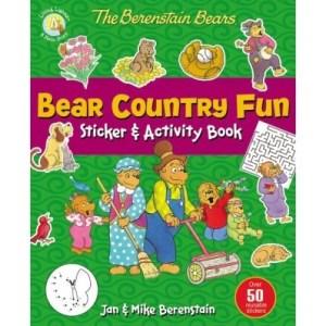 Bear Country Fun Sticker & Activity Book