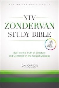 NIV Zondervan Study Bible ~ Book Review