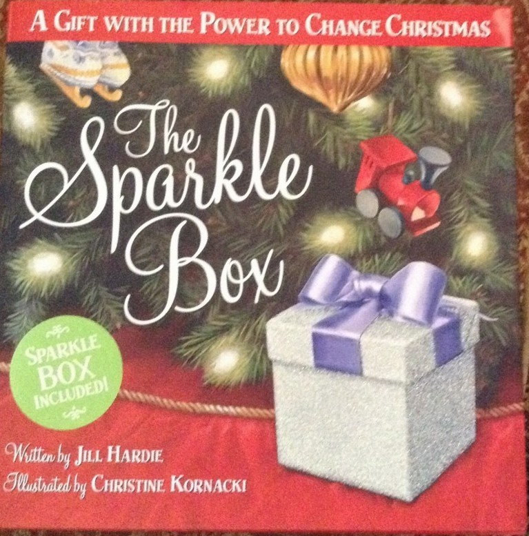 The Sparkle Box: A Gift with the Power to Change Christmas Book Cover