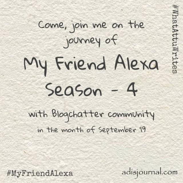Making friends with Alexa, again!