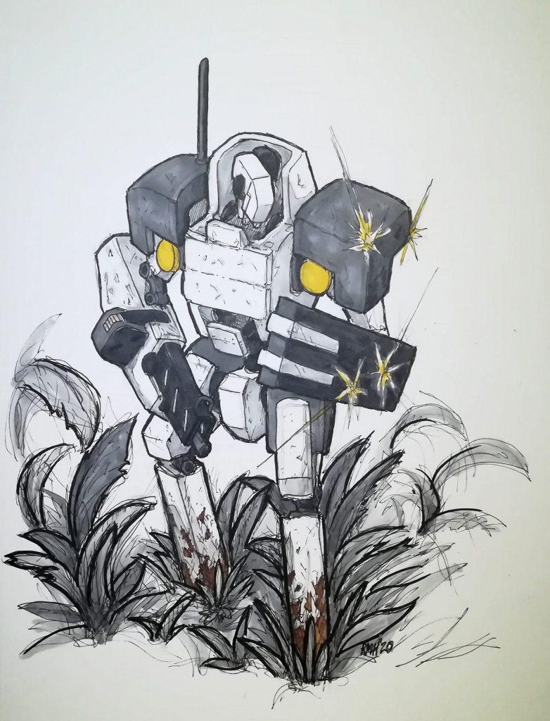 Guest Art – Skullbucket