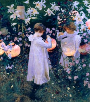 Candle Lanterns by John Singer Sargent
