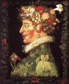Spring by Giuseppe Arcimboldo circa 1550