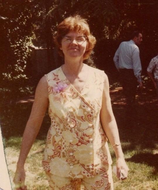 Betty Polivka circa 1973
