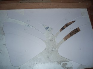 Rear panels cut out