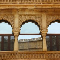Symmetry : A step into Rajasthan.