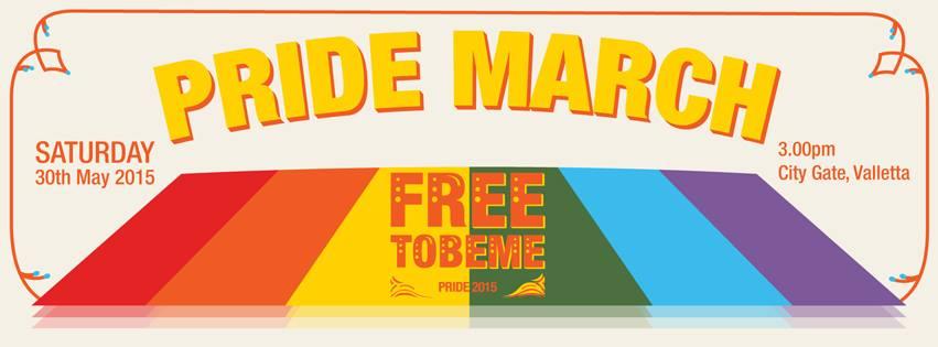 Pride March Banner