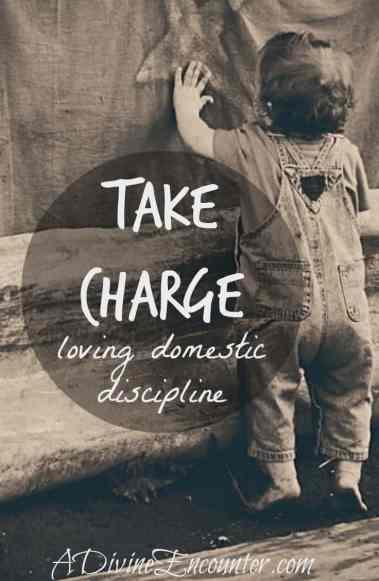 A refreshing look at parental discipline. (I Samuel 15:22) https://adivineencounter.com/take-charge