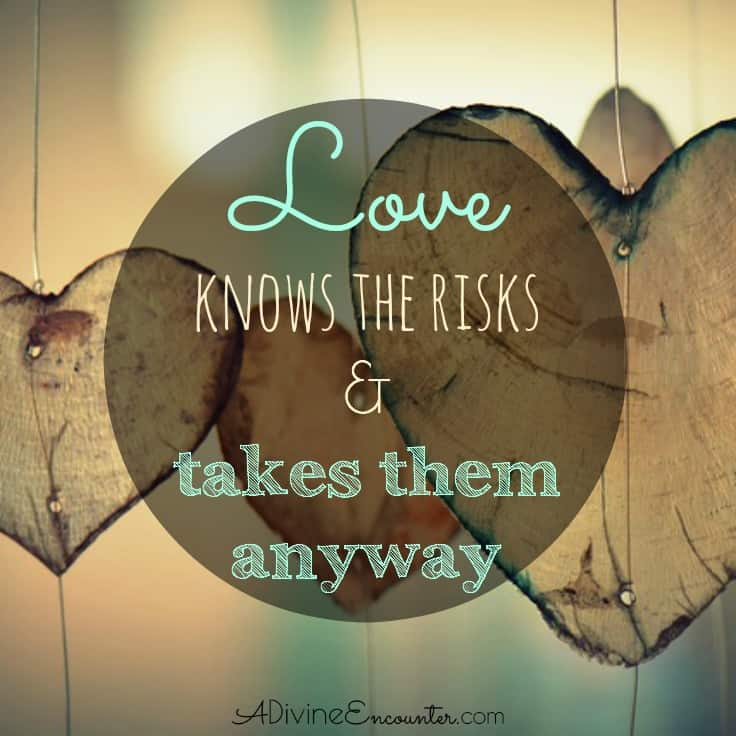 What does unconditional love look like? Here's a poignant look at Jesus' example of unconditional love - a love that knows the risks & takes them anyway.