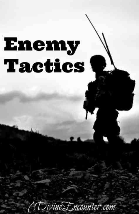Exodus 17:7-8 / An insightful post considering what God has to say about our enemy's tactics. https://adivineencounter.com/enemy-tactics