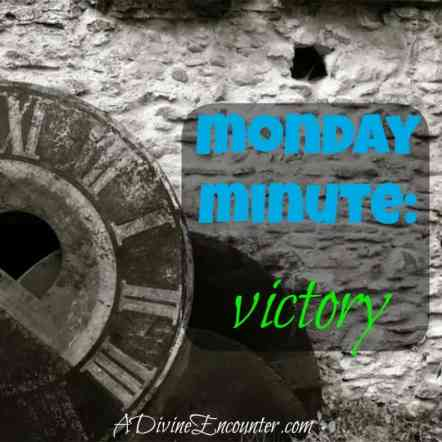Inspiring post for Christ-followers desiring victory over sin! (Exodus 17:15) http//adivineencounter.com/monday-minute-victory