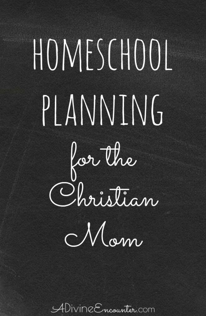 A timely post considering the challenges of homeschool planning, and offering wise counsel for the Christian mom. (Proverbs 3:5-6)