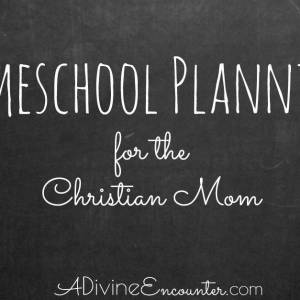 Homeschool Planning for the Christ-Following Mom