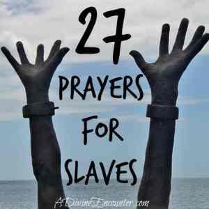 Learn…Love…Lift in Prayer: 27 Prayers for Slaves