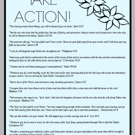 15 Bible Verses About Taking Action