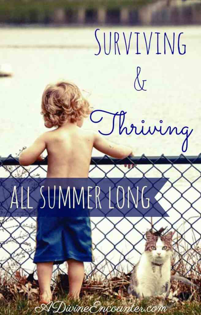Surviving and Thriving All Summer Long (Summer Ideas for Christian Parents) - A Divine Encounter