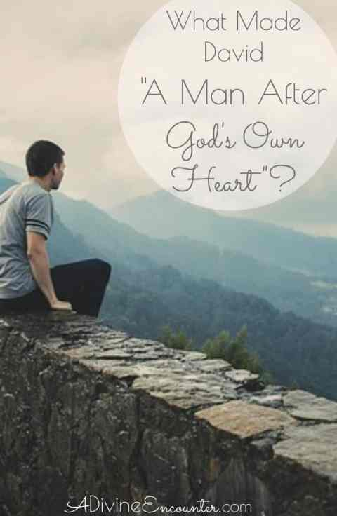 "How did an adulterer and murderer like David earn God's recognition as ""a man after My own heart""? Insightful post considers this question."