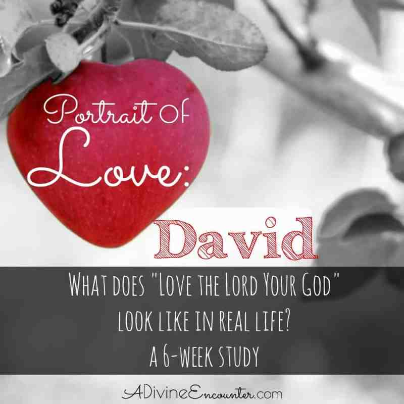 Grow in your love for God! This brief Bible study on David is part of a 6-week series exploring love for God, as demonstrated by biblical characters.