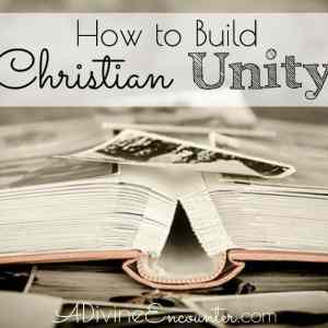 How to Build Christian Unity
