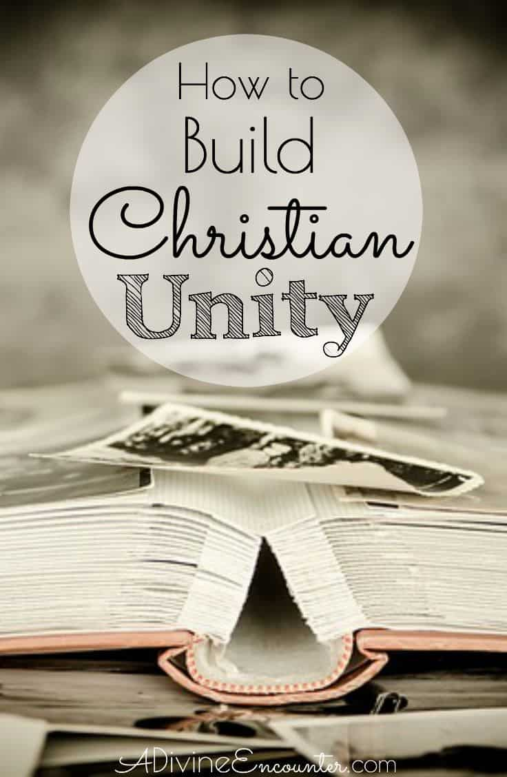 How to build christian unity the undoing of unity in christs church malvernweather Choice Image
