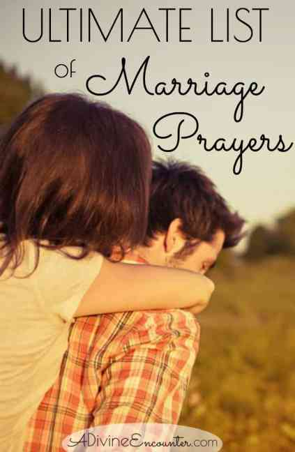 Prayers for Marriage