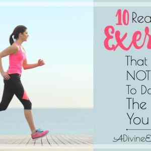 10 Reasons to Exercise That Have Nothing to Do With the Way You Look