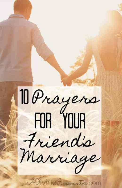 Prayers for Your Friend's Marriage