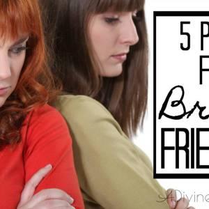 Prayers for a Broken Friendship