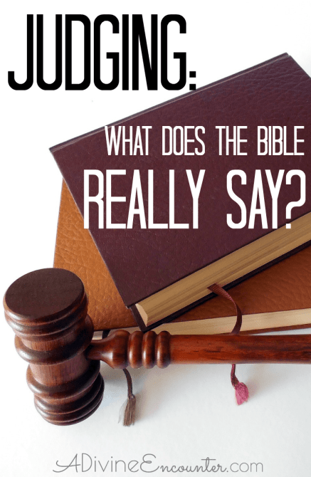 What Does the Bible Say About Judging