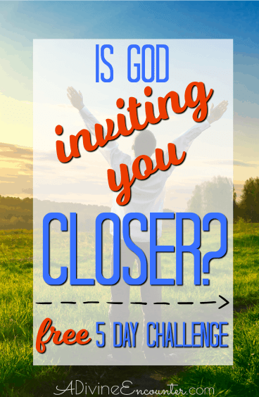 Do you long for a deeper relationship with God, but aren't really sure how to draw nearer to God? No matter where you are in your Christian walk, there's always room for drawing closer to God. Take the FREE 5-day prayer challenge, Drawing Close to God in Prayer.