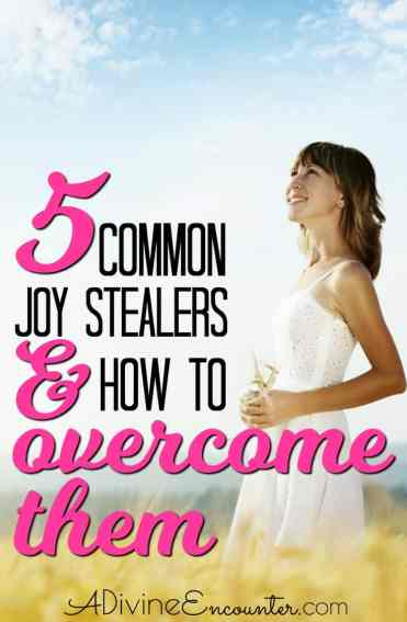 5 Things That Steal Your Joy and How to Take it Back