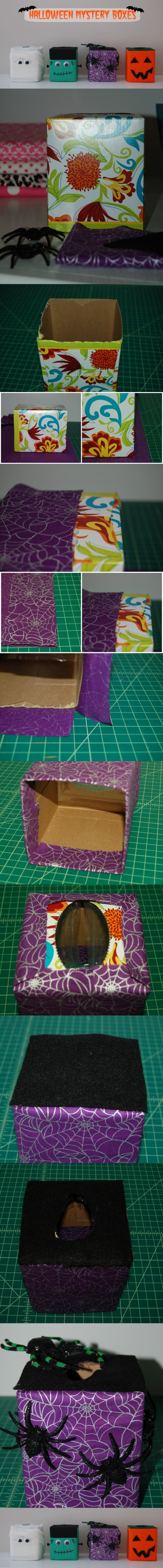 15. Halloween Mystery Boxes