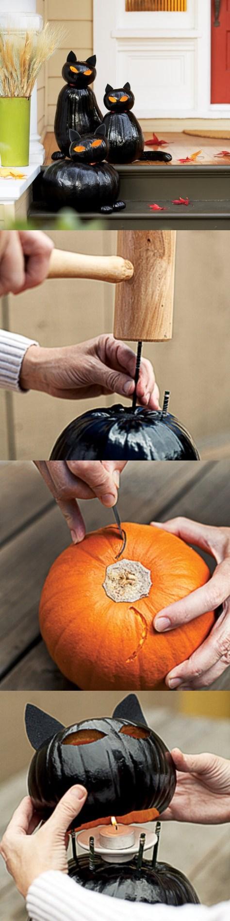 7. Make Black Cat Lanterns