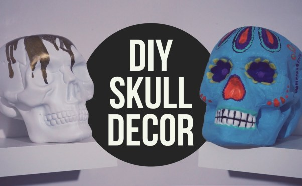 15 DIY Halloween Skull Ideas
