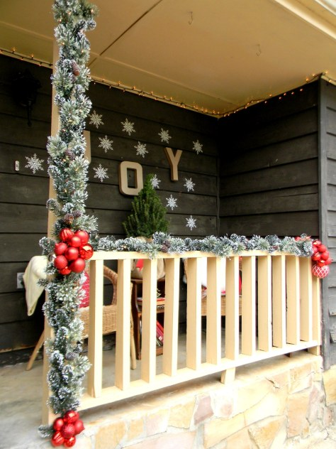 Porch Christmas Decorations