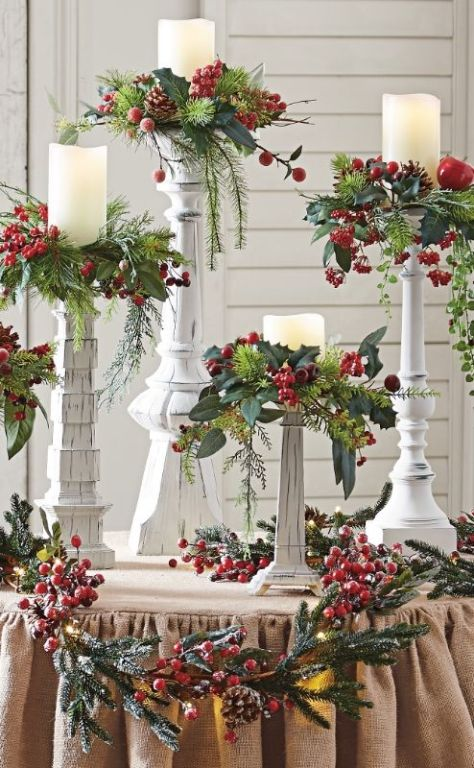 70 christmas decorations ideas to try this year a diy for Christmas home decorations pinterest