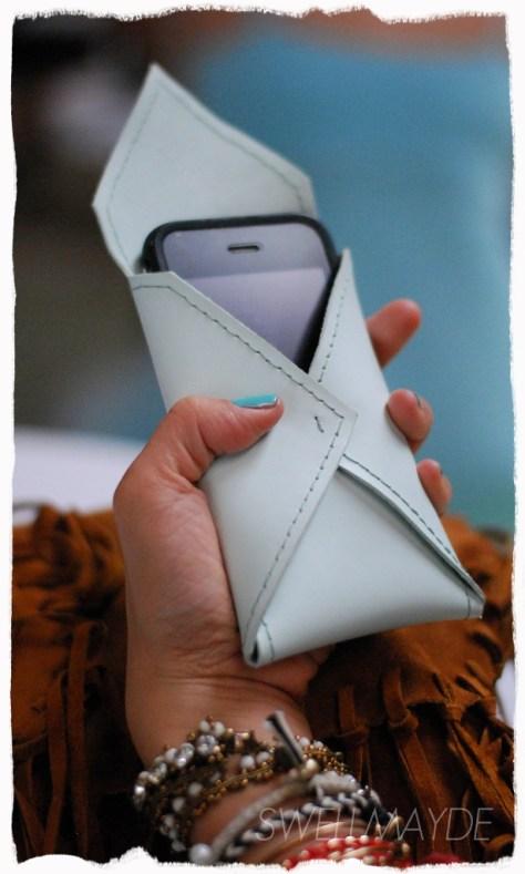 DIY Envelope Cell Phone Case