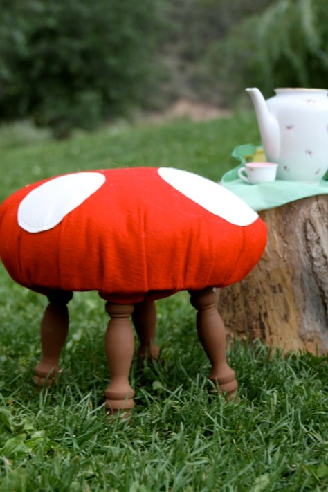 DIY Toadstool